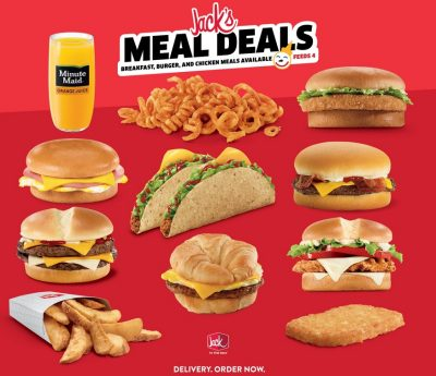 Jack in the Box Family Meals
