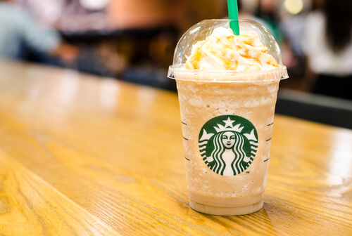 Starbucks Secret Menu Butterbeer Frappucino