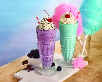 Steak 'N Shake Cotton Candy Milkshake