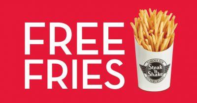 Steak-n-Shake Free Fries