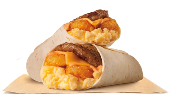 Burger King Breakfast Burrito Jr