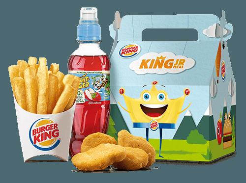 Burger King Kids Chicken Nugget Meal