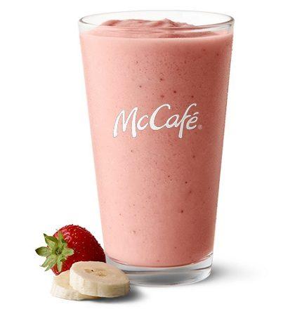 McDonald's Strawberry Banana Smoothie
