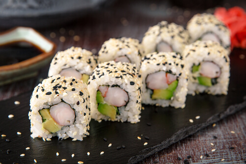 Ra Sushi California Roll