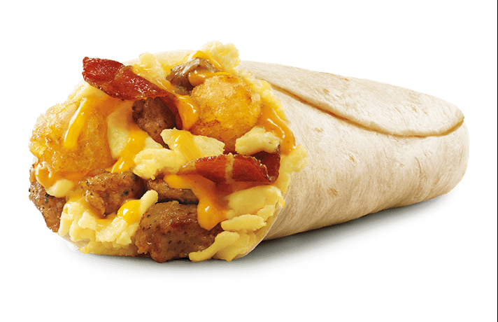Sonic Ultimate Meat and Cheese Burrito
