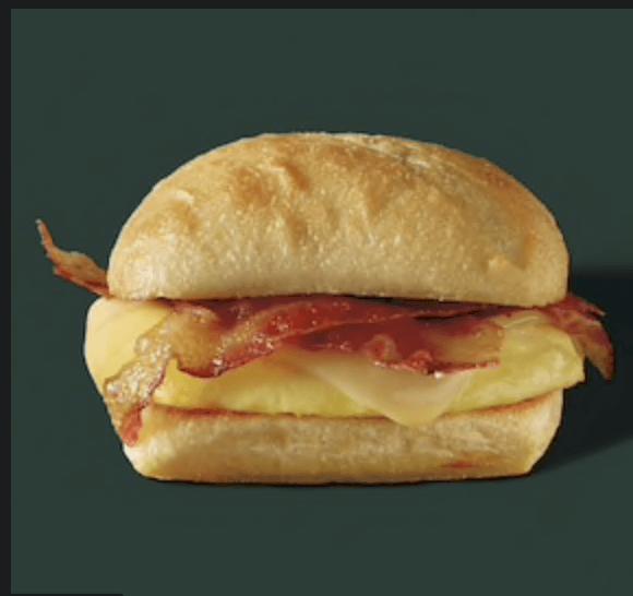 Starbucks Bacon Egg and Gouda