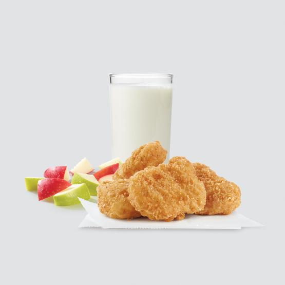 Wendy's 4 Piece Chicken Nuggets Kids Meal