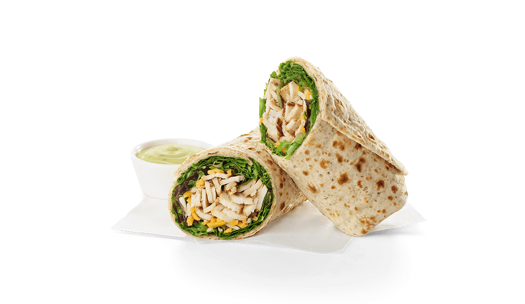 grilled chicken cool wrap