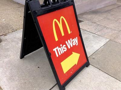 This Way to McDonald's