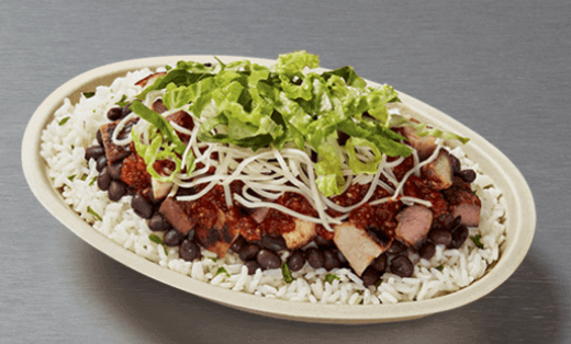 Chipotle High Protein Bowl
