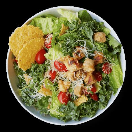CoreLife Kale Caesar Chicken Salad
