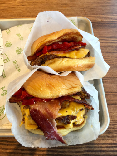 Shake Shack Smokeshack burger