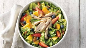 Panera Strawberry Poppyseed and Chicken Salad