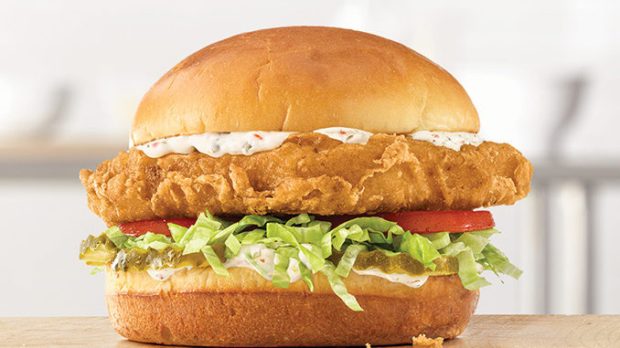 Arby's New Beer Battered Fish Sandwich