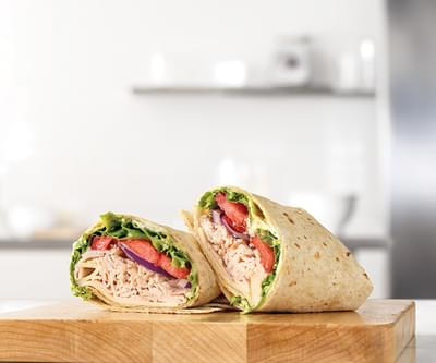 Arby's - Roast Turkey and Swiss Wrap