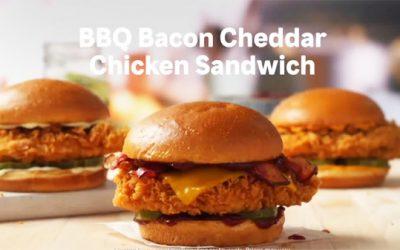 Popeyes Tests New BBQ Bacon Cheddar Chicken Sandwich
