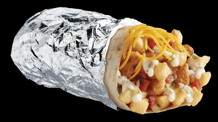 Del Taco Epic-Queso-Chicken-Burrito