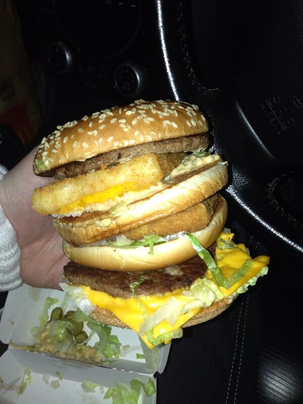 McDonald's Land, Sea, & Air Burger