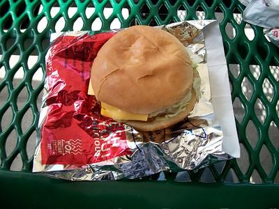 Sonic Custom Burger