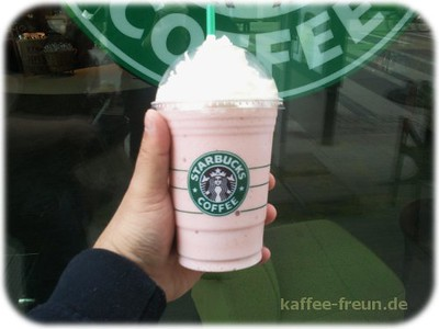 Strawberries and Creme Frappuccino
