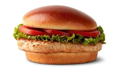 McDonald's Artisan Grilled Chicken Sandwich