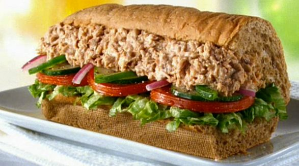 subway tuna