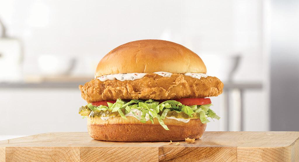 Crispy Fish Sandwich Arby's