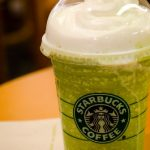 Starbuck's Thin Mint Frappuccino
