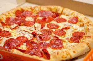 Costco Food Court pizza