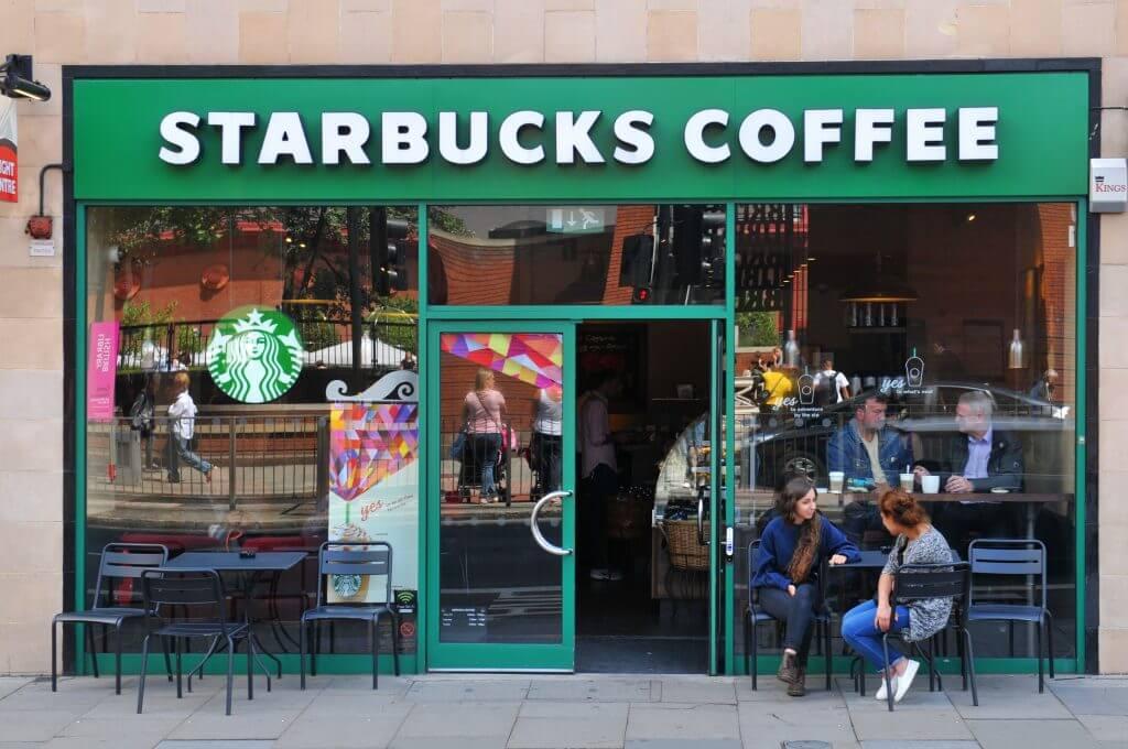 Starbucks Blue Drink