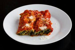 LaRosa's veggie lasagna