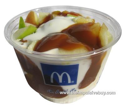 McDonald's Secret Menu Caramel apple Sundae