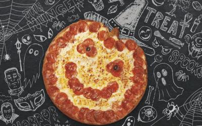 Papa John's Brings Back Jack-O-Lantern Pizza