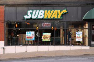 Subway close
