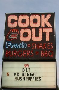 Cook Out FAQ1