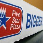 Five Star Pizza Menu Prices
