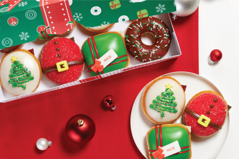 Krispy Kreme Holiday Collection