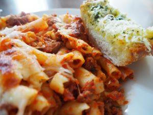Minard's Spaghetti catering menu