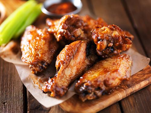 Shigs n pit best wings