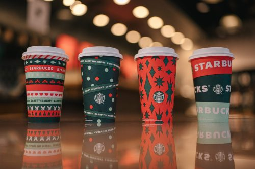 Starbucks Holiday Cups 2020