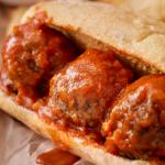 Subway Copycat Meatball Marinara Sub Recipe