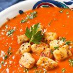 Copycat Panera Tomato Soup