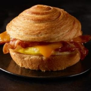 Starbucks Smoked Gouda Bacon Cheddar Sandwich