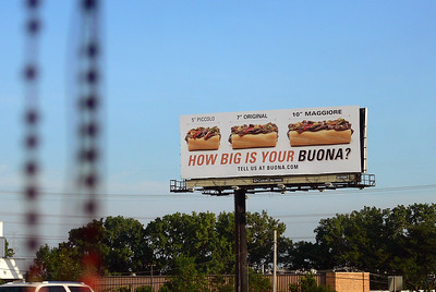 Buona Beef Billboard