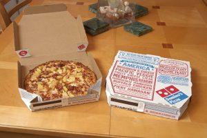 Dominos Gluten Free Pizza