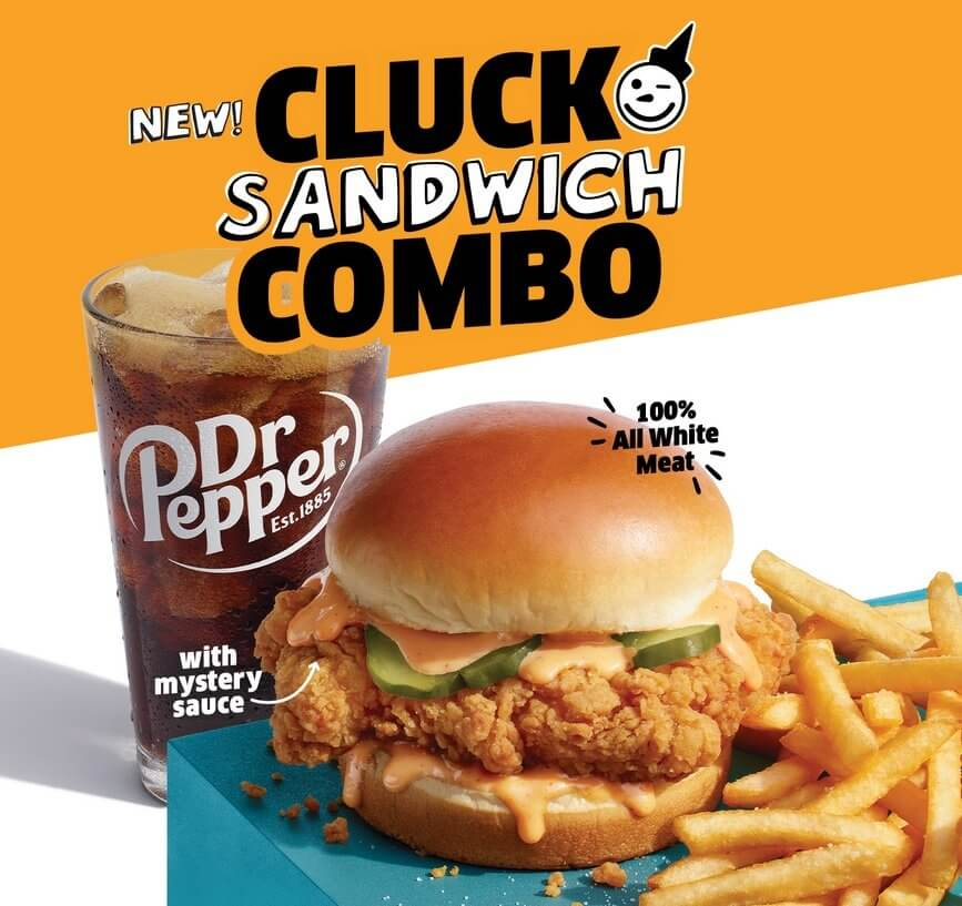 Jack in the Box Chicken Cluck Sandwich