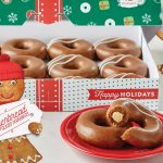 Krispy Kreme Is Bringing Back Its Gingerbread Donuts For The Holidays