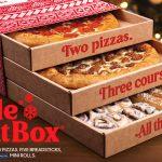 Pizza Hut Launches 3-Course Triple Treat Box