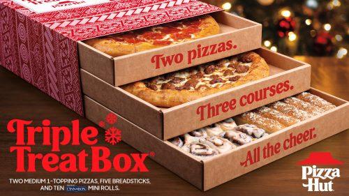 Pizza Hut Triple Treat Box