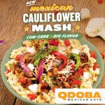 Qdoba Unveils New Keto Mexican Cauliflower Mash